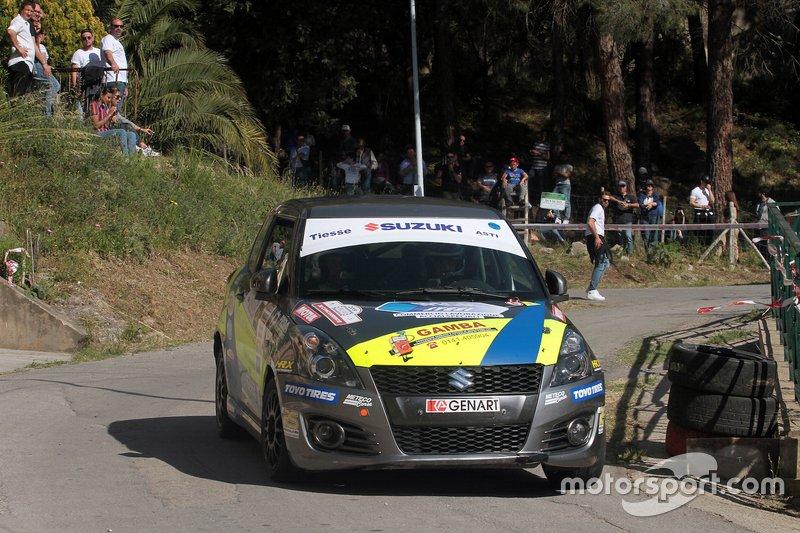 Emanuele Rosso, Andrea Ferrari, Suzuki Swift 1.6 Sport R1, Meteco Corse