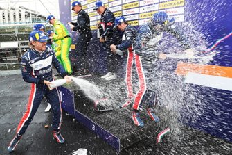 Podio P3: #2 United Autosports Ligier JS P3 Nissan: Wayne Boyd, Garett Grist, Tommy Erdos