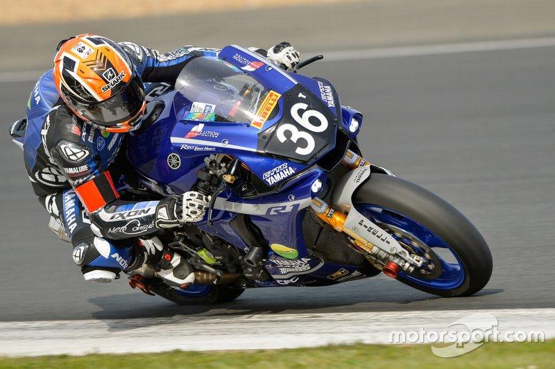 #36 Yamaha: Morgan Berchet, Matthieu Lussiana, Alex Plancassagne