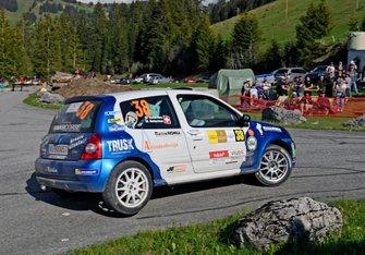 Cédric Betschen, Mirjam Betschen, Renault Clio, Betschen Rally Team