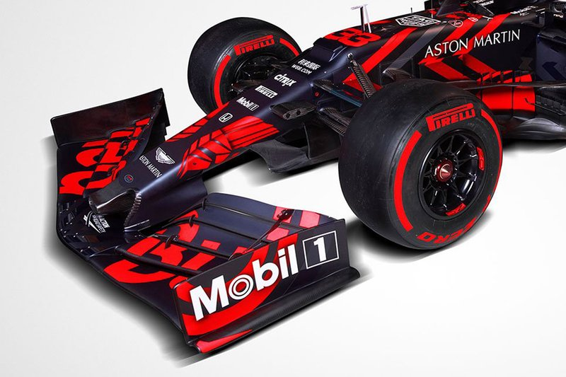 Red Bull Racing RB15 2019 de pré-temporada