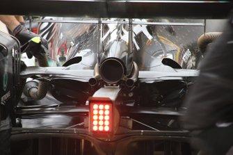 Arrière de la Mercedes AMG W10