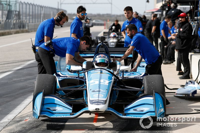 #59: Max Chilton, Carlin, Chevrolet