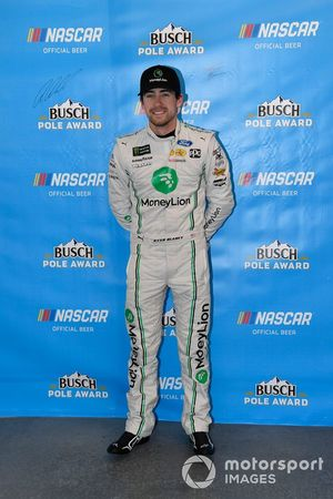 Ryan Blaney, Team Penske, Ford Mustang MoneyLion wins the pole