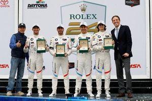 Подиум: Аугусту Фарфус, Коннор де Филиппи, Филипп Энг, Колтон Херта, BMW Team RLL