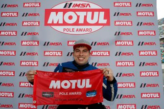Motul Pole award winner #54 JDC-Miller MotorSports Audi RS3 LMS TCR, TCR: Michael Johnson