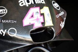 Aprilia Racing Team Gresini bike detail