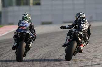 Maverick Vinales, Yamaha Factory Racing, Hafizh Syahrin, Red Bull KTM Tech 3