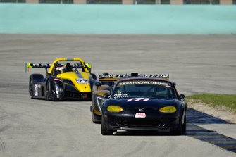 #171 MP4A Mazda Miata driven by Alberto Naon Jr. & Alberton Nano Sr. of Naon Racing