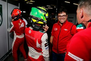 Mick Schumacher, PREMA Theodore Racing e René Rosin, Team Manager, PREMA Theodore Racing