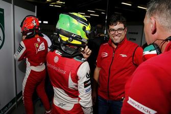 Mick Schumacher, PREMA Theodore Racing e René Rosin, Team Manager, PREMA Theodore Racing