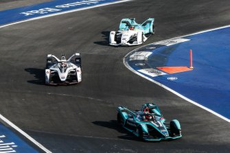 Mitch Evans, Panasonic Jaguar Racing, Jaguar I-Type 3, Felipe Nasr, Dragon Racing, Penske EV-3, Oliver Turvey, NIO Formula E Team, NIO Sport 004