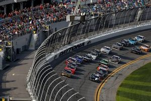 Tyler Reddick, Richard Childress Racing, Chevrolet Camaro Pinnacle Financial Partners, Brandon Jones, Joe Gibbs Racing, Toyota Supra Juniper