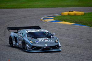 #07 MP1A Lamborghini Gallardo GT3 driven by Sergio Lagana, Bruno Junqueira, of Auto + Racing