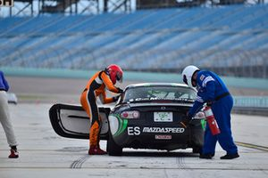 #888 MP4A Mazda MX-5 driven by Luis Caban & Ethan Low of Caban Motorsports