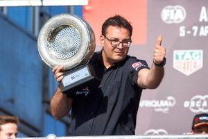 Podium: Dominik Greiner, Team manager ALL-INKL.COM Münnich Motorsport