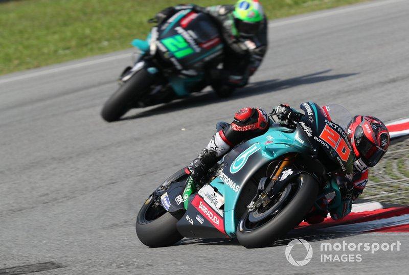 Petronas-Yamaha 2019: Fabio Quartararo, Franco Morbidelli