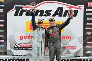 TA4 podium finishers Steven Davison and Todd Napieralski