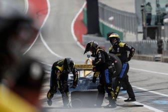 Зак Вич, Andretti Autosport Honda, пит-стоп