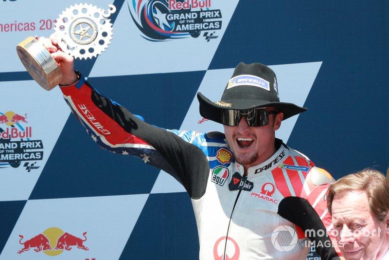 Podium: Jack Miller, Pramac Racing