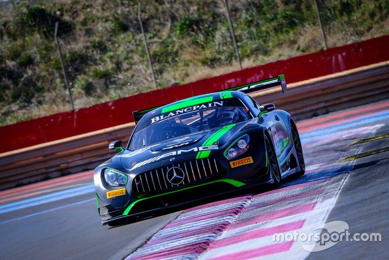 #43 Strakka Racing GBR Mercedes-AMG GT3, Track