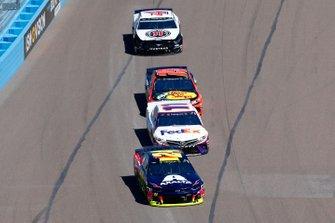 William Byron, Hendrick Motorsports, Chevrolet Camaro Axalta, Denny Hamlin, Joe Gibbs Racing, Toyota Camry FedEx Freight