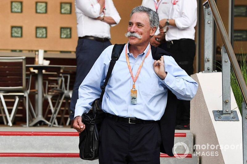 Chase Carey, CEO da Fórmula 1