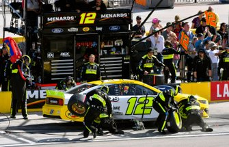 Ryan Blaney, Team Penske, Ford Mustang Menards/Pennzoil Ford
