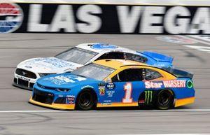 Kurt Busch, Chip Ganassi Racing, Chevrolet Camaro Star Nursery, Ryan Newman, Roush Fenway Racing, Ford Mustang Wyndham Rewards