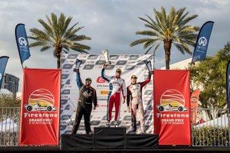 GT4 Race 1 Podium