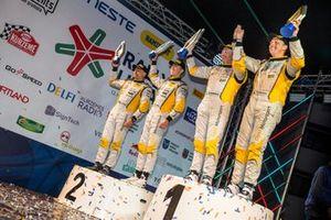 I piloti ADAC Opel Rally Cup premiati