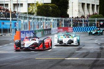 Jérôme d'Ambrosio, Mahindra Racing, M5 Electro, Oliver Turvey, NIO Formula E Team, NIO Sport 004, Tom Dillmann, NIO Formula E Team, NIO Sport 004