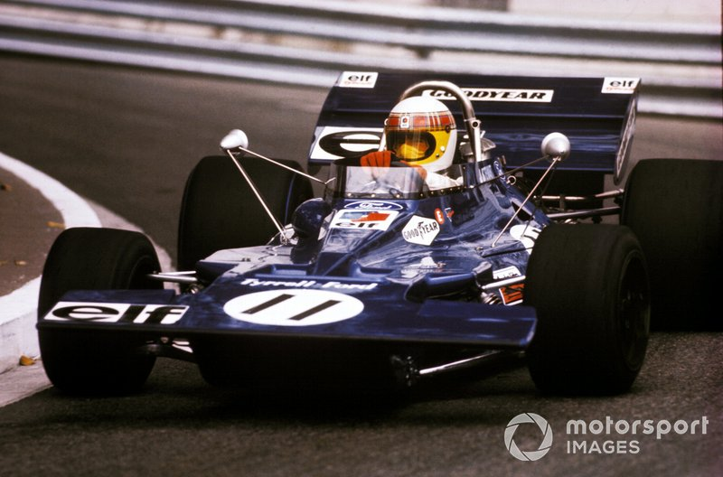 10º Tyrrell: 14 pole positions