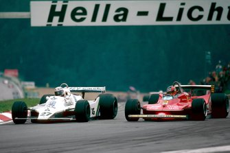 Alan Jones, Williams y Gilles Villeneuve, Ferrari