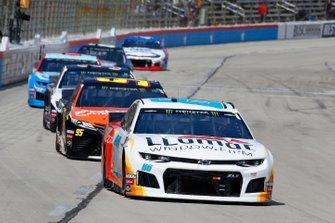 Alex Bowman, Hendrick Motorsports, Chevrolet Camaro Llumar, Matt DiBenedetto, Leavine Family Racing, Toyota Camry Procore