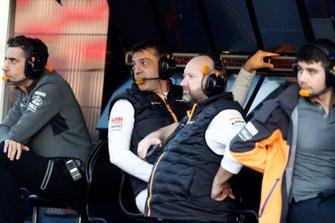 McLaren pitmuur