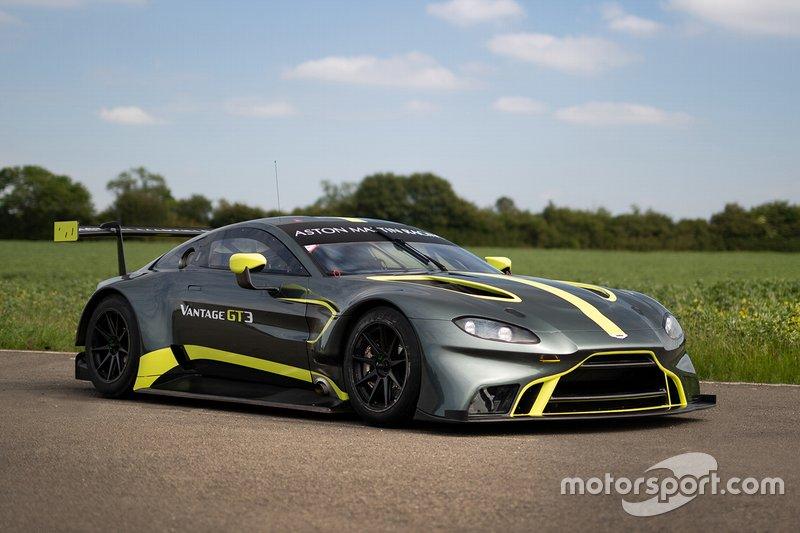 Presentación del Aston Martin Vantage GT3