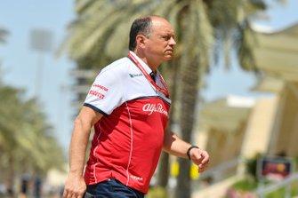 Руководитель Alfa Romeo Racing Фредерик Вассер
