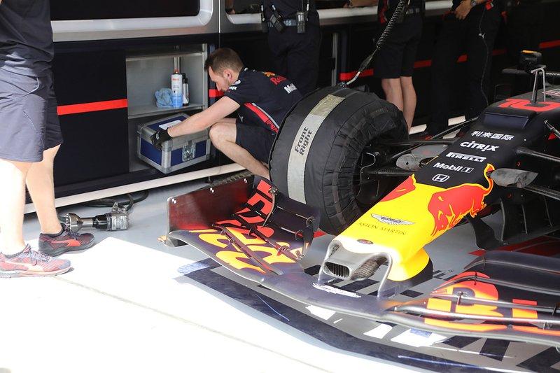 Red Bull Racing takım alanı