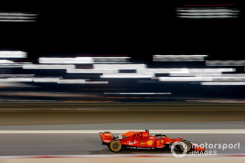 2: Sebastian Vettel, Ferrari SF90, 1:28.160