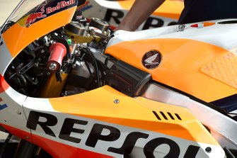 Repsol Honda Team bike detail
