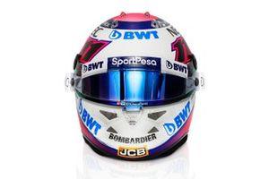 Sergio Perez'in 2019 kaskı