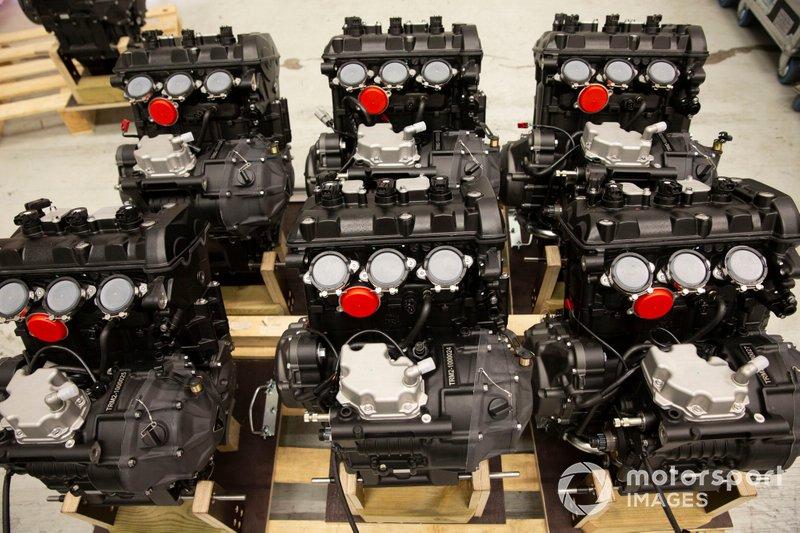 Motori Triumph Moto2