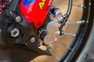 Detalle de la Honda CRF450RW