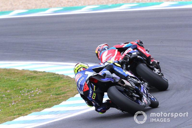 #2 HRC Honda Test Team: Stefan Bradl, #11 GRT Yamaha Official: Sandro Cortese