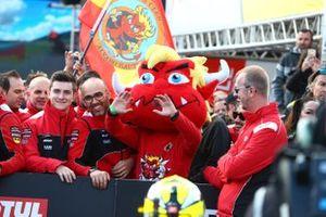 Alvaro Bautista, Aruba.it Racing-Ducati Team mascot