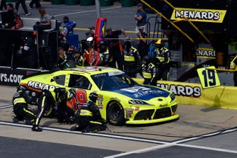 Brandon Jones, Joe Gibbs Racing, Toyota Supra Menards/Jeld-Wen