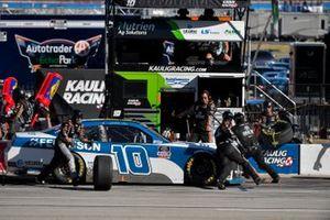Jeb Burton, Kaulig Racing, Chevrolet Camaro Ferguson, pit stop