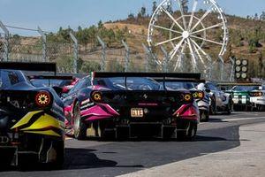 #83 Iron Lynx Ferrari 488 GTE EVO LMGTE, Rahel Frey, Sarah Bovy, Alessio Rovera
