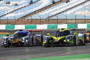 #18 1 AIM Villorba Corse Ligier JS P320 - Nissan: Alessandro Bressan, Andreas Laskaratos, Damiano Fioravanti, #6 Nielsen Racing Ligier JS P320 - Nissan: Nicholas Adcock, Austin McCusker, Max Koebolt